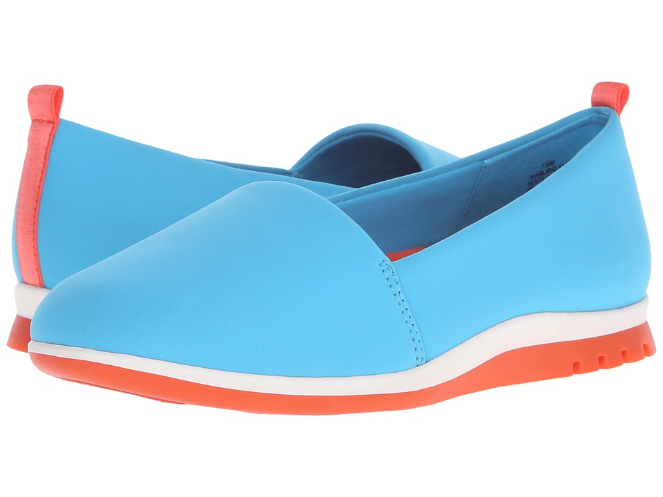 Nine West - Burkland2 (Turquoise Fabric) Women's Shoes