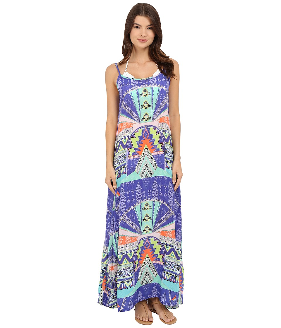 Vitamin A Swimwear - Solstice Maxi Dress Cover-Up (Bahia Viscose) Women's Swimwear