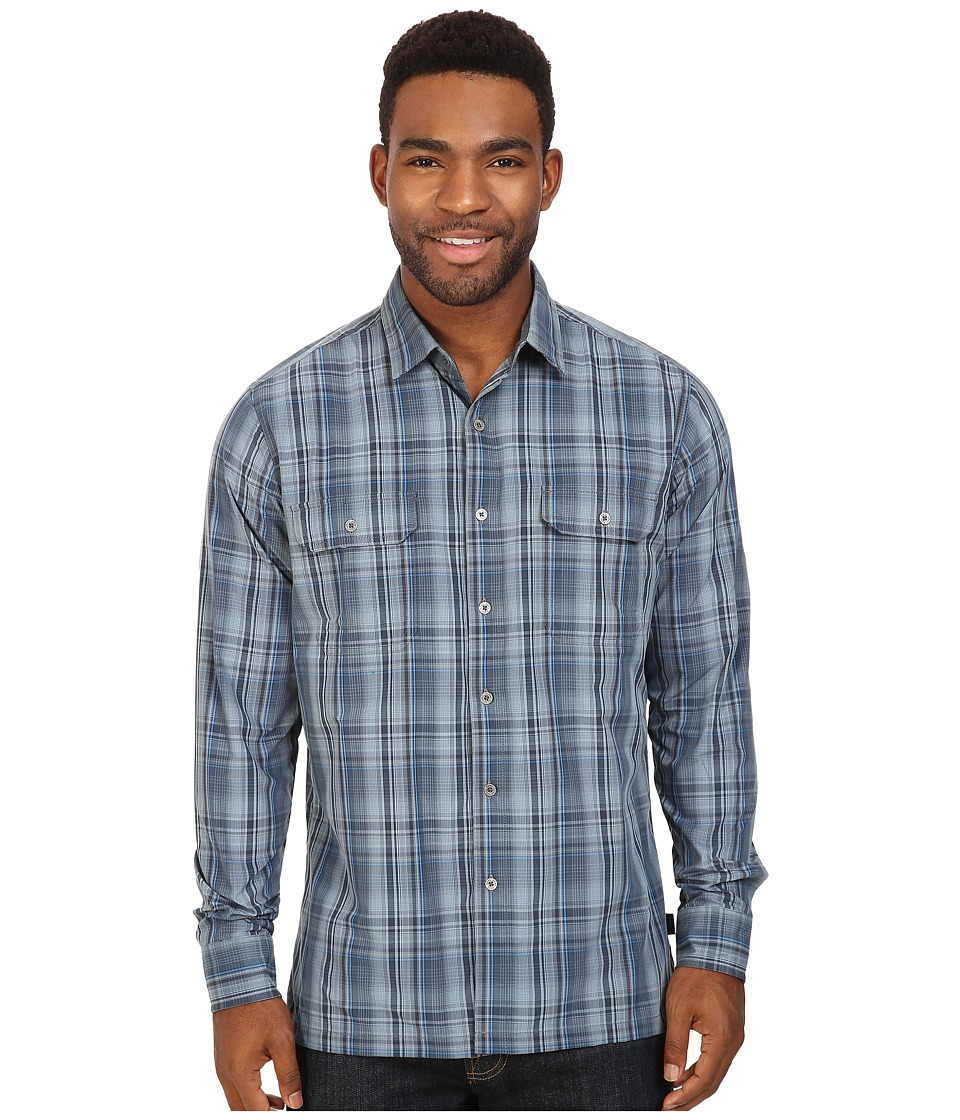 Kuhl - Response L/S (Shadow Blue) Men's Long Sleeve Button Up