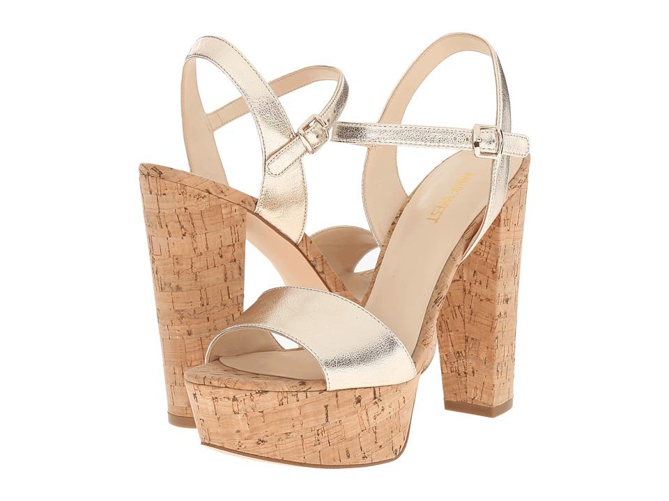 Nine West Carnation (Light Gold Metallic) High Heels