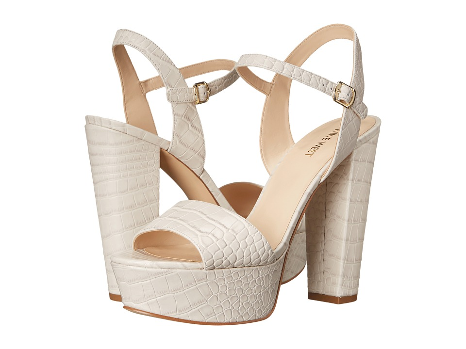 Nine West - Carnation (Off-White Croco) High Heels