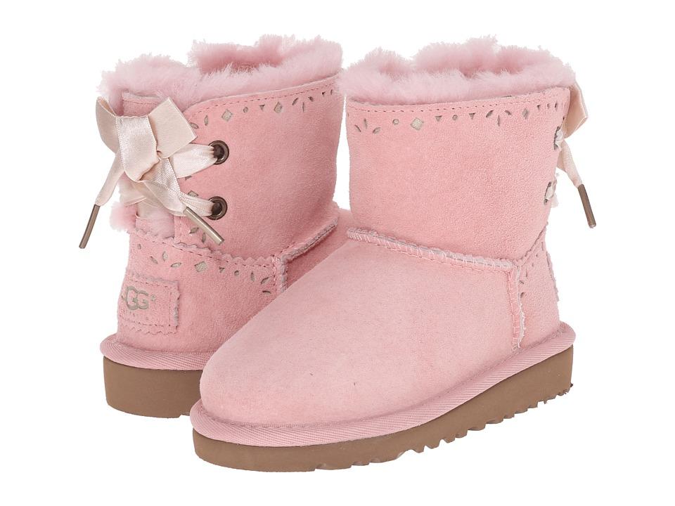 UGG Kids - Dixi Flora Perf (Toddler/Little Kid) (Blush) Girls Shoes