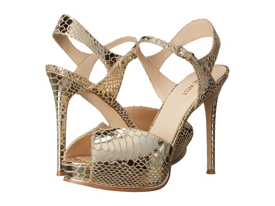 Nine West - Cruzeto (Light Gold Metallic) High Heels
