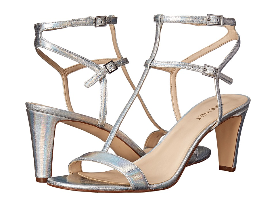Nine West - Dacey (Silver Metallic) High Heels