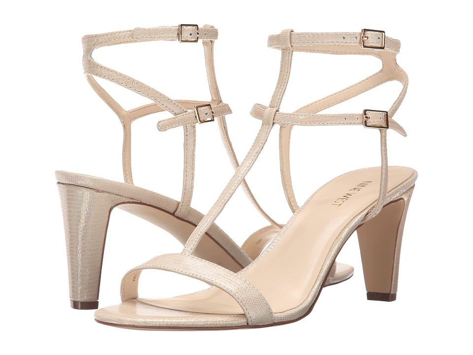 Nine West - Dacey (Light Gold Metallic) High Heels