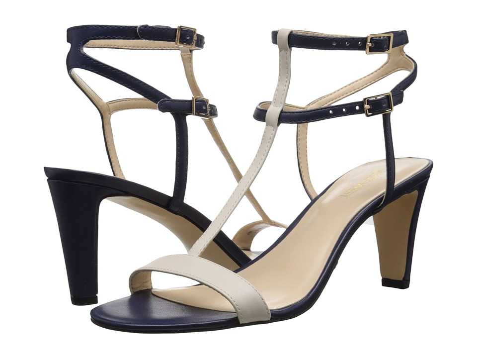 Nine West - Dacey3 (Navy/Off-White Synthetic) Women's Shoes