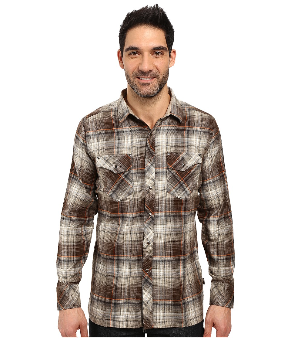 KUHL - Lowdown Long Sleeve Shirt (Chestnut) Men's Long Sleeve Button Up