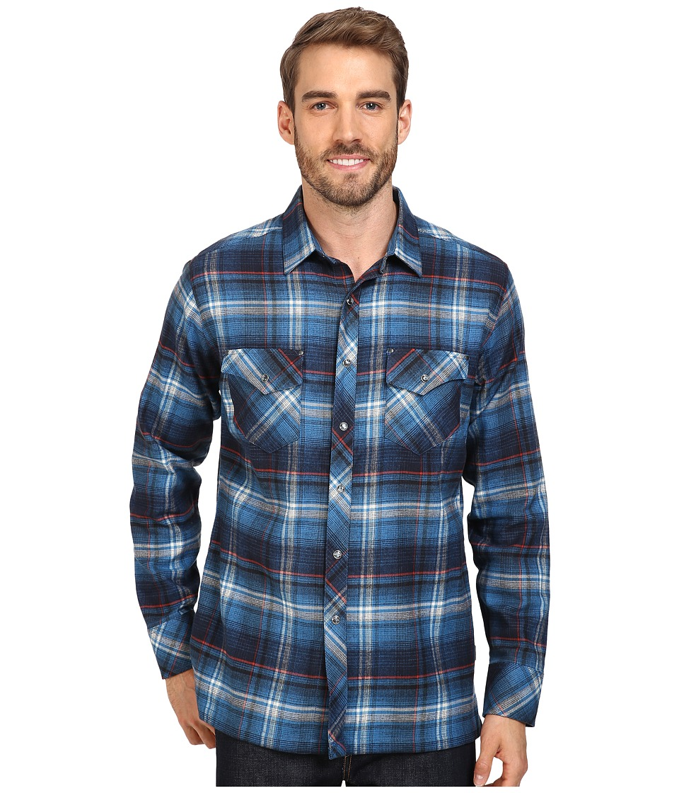 Kuhl - Lowdown Long Sleeve Shirt (Pirate Blue) Men's Long Sleeve Button Up