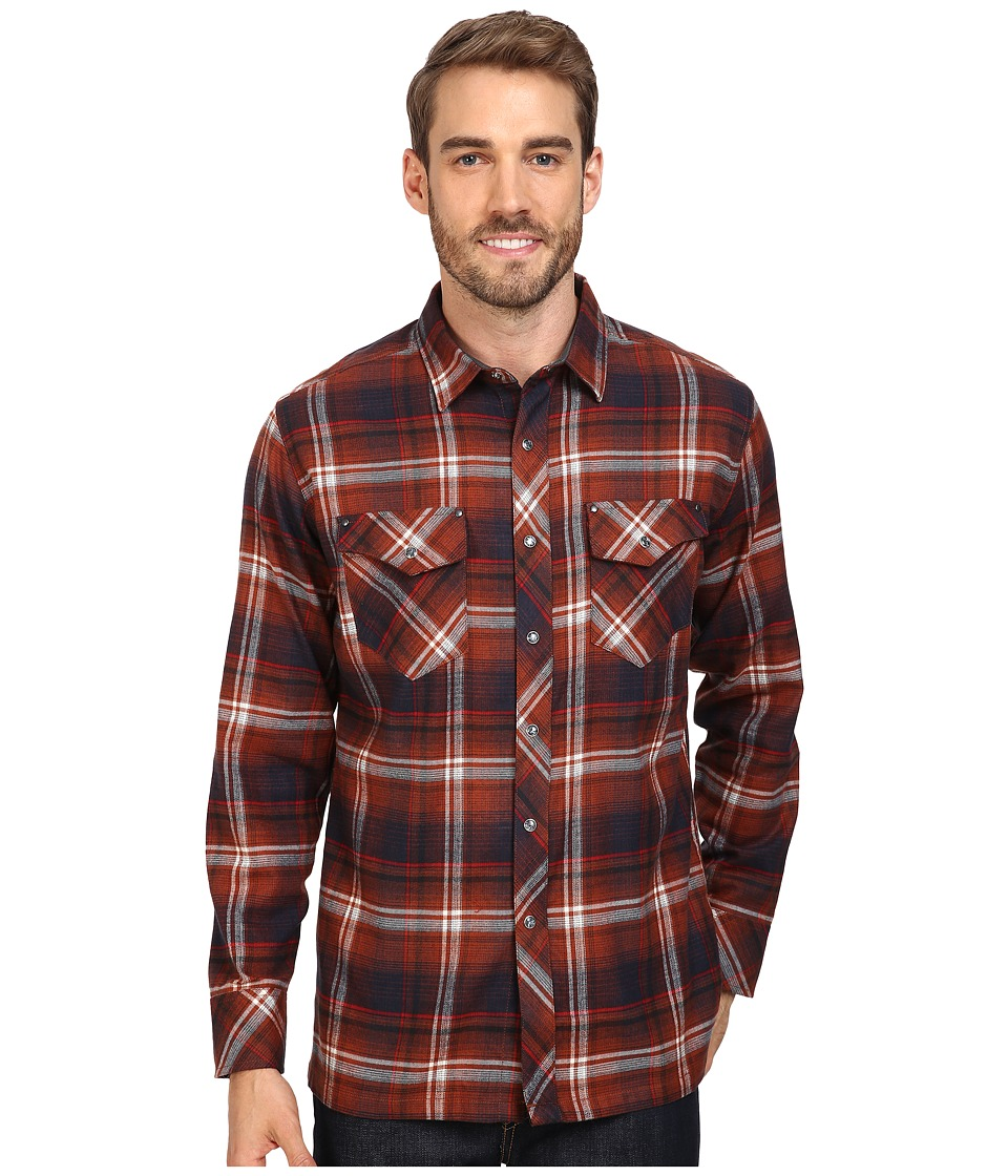 KUHL - Lowdown Long Sleeve Shirt (Red Rock) Men's Long Sleeve Button Up