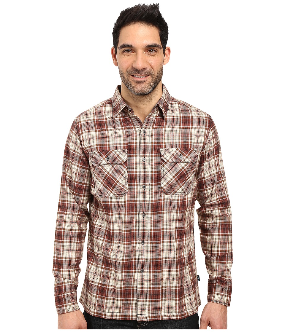 KUHL - Dillingr Long Sleeve Shirt (Sundried Tomato) Men's Long Sleeve Button Up