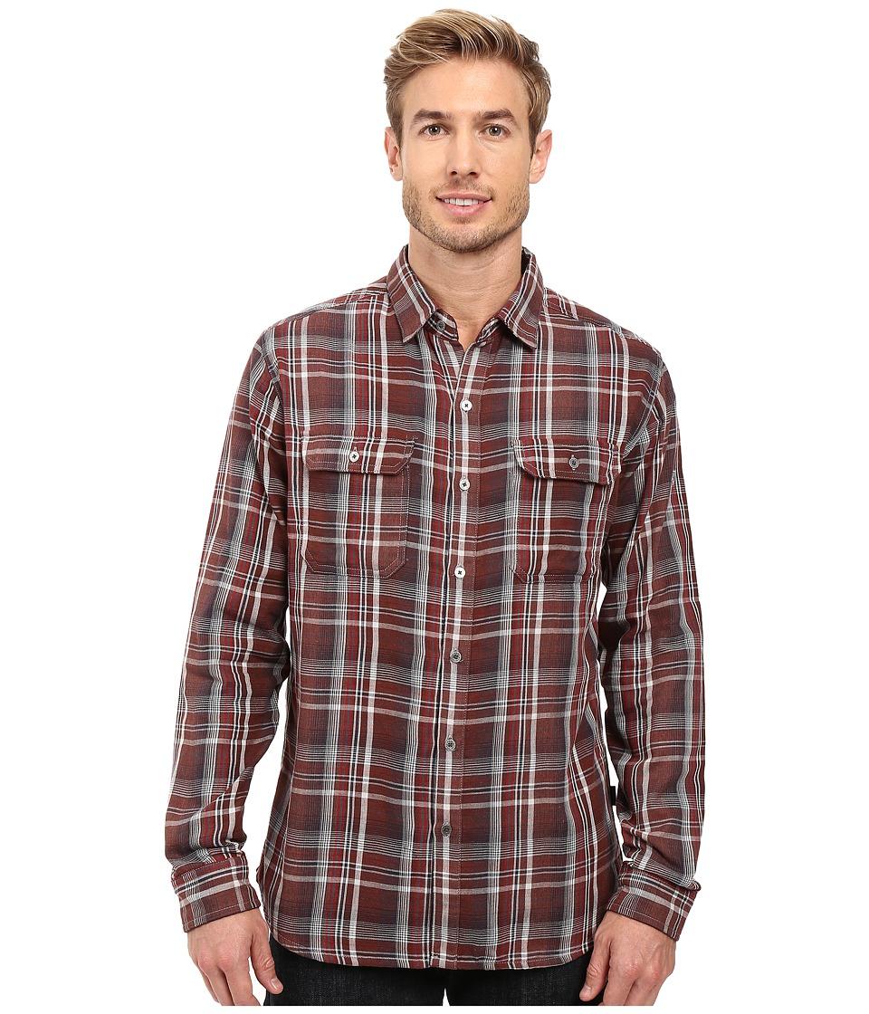 KUHL - Shatterd Long Sleeve Shirt (Brick) Men's Long Sleeve Button Up