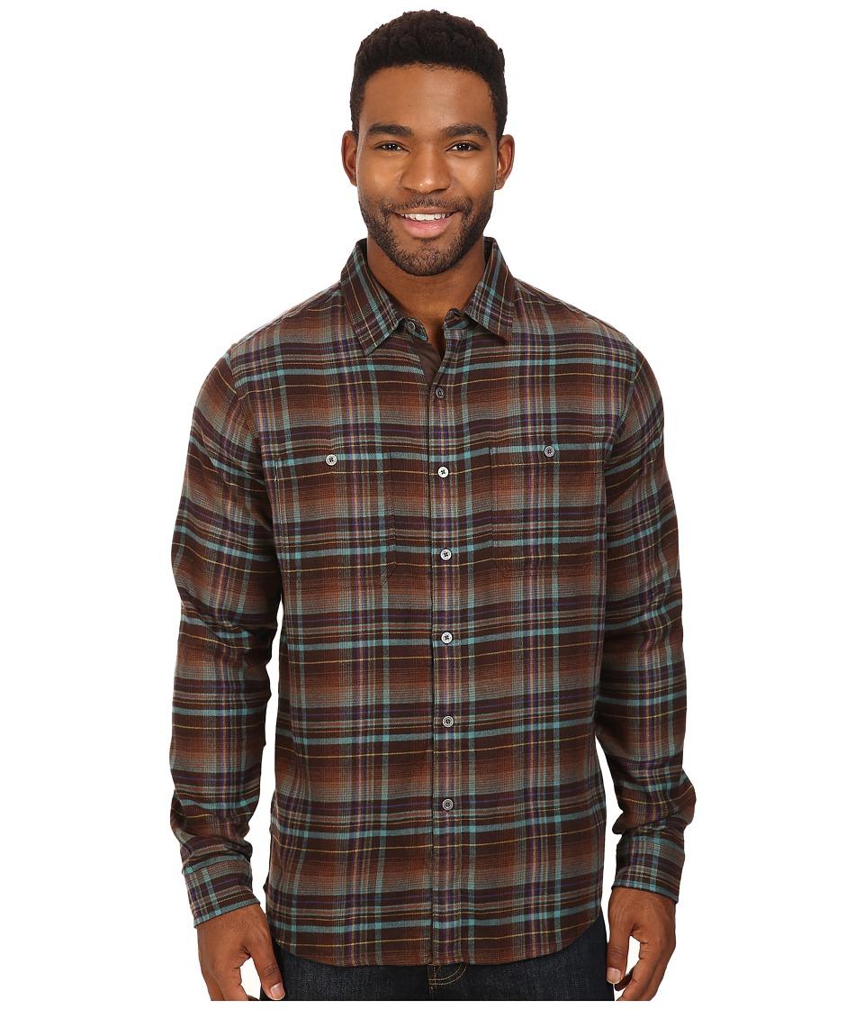 KUHL - Fugitive Long Sleeve Shirt (Mint Chocolate Chip) Men's Long Sleeve Button Up
