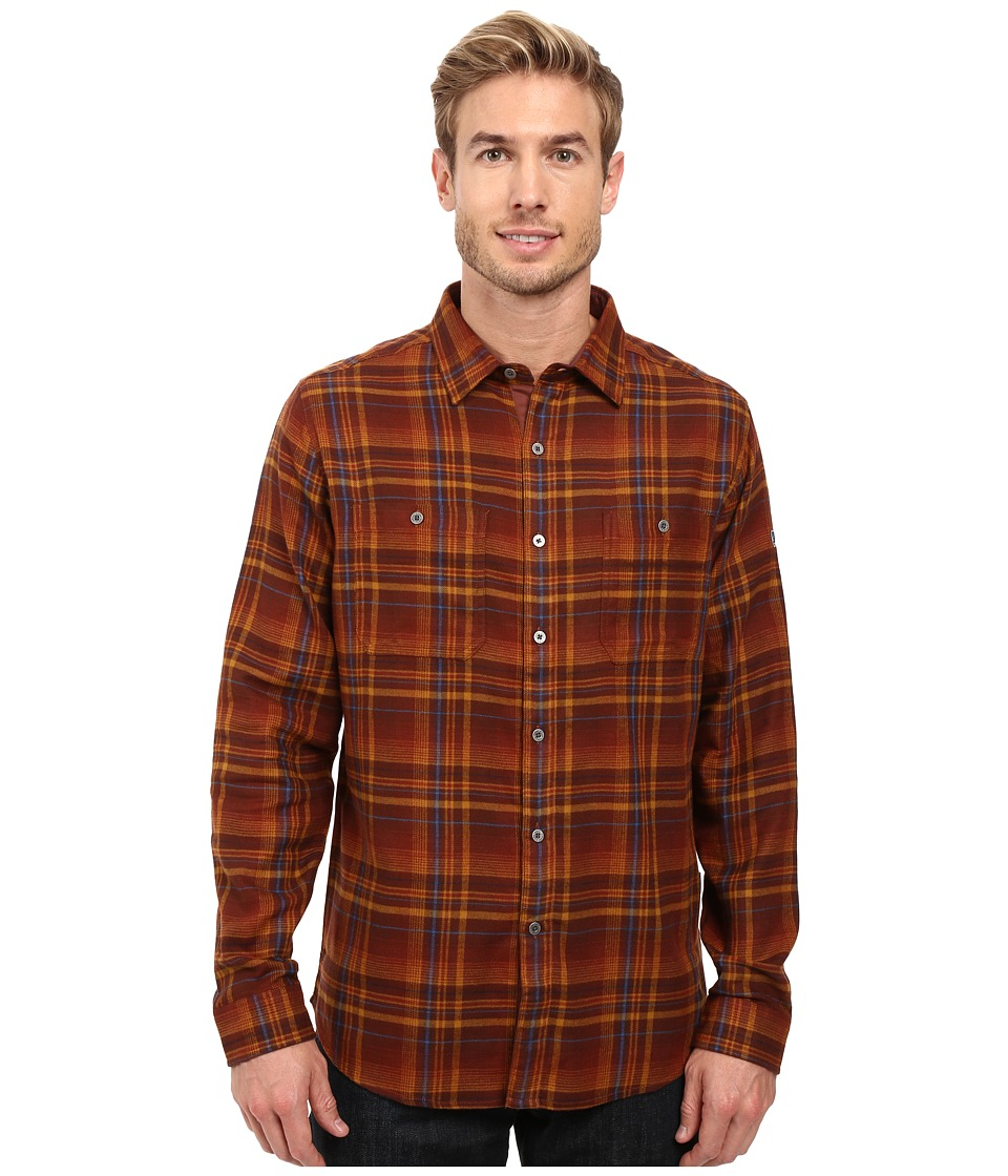KUHL - Fugitive Long Sleeve Shirt (Red Rock) Men's Long Sleeve Button Up