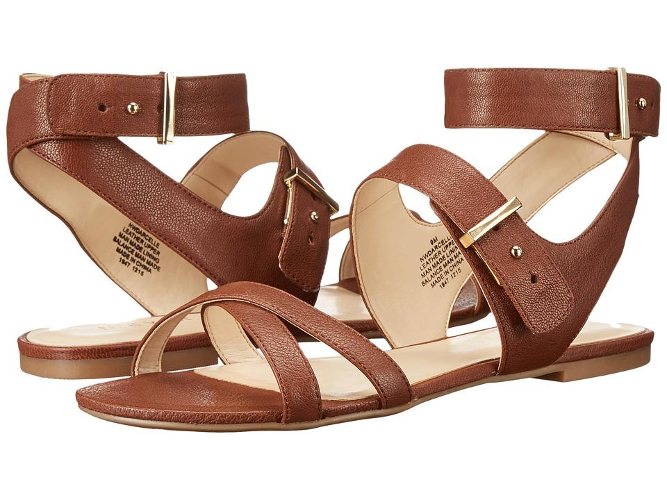 Nine West - Darcelle (Cognac Leather) Women's Shoes