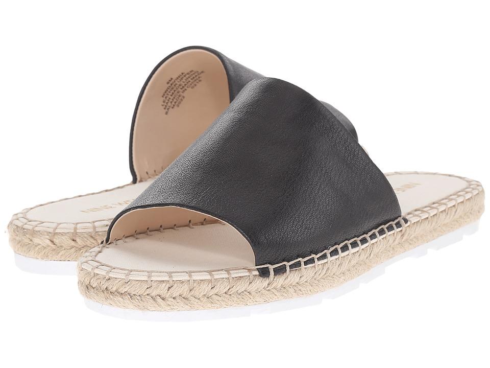 Nine West - Davinia (Black Leather) Women's Sandals
