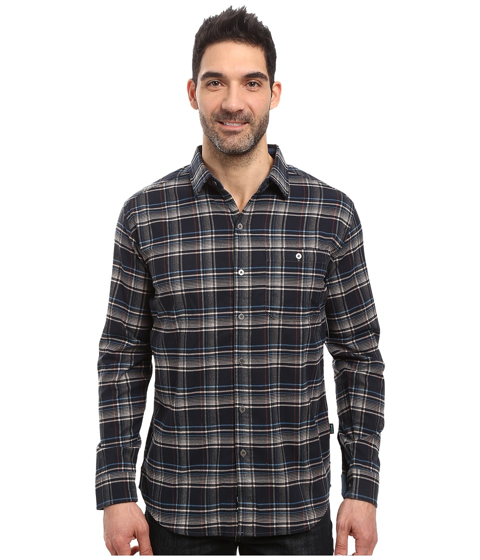 Kuhl - The Independent Long Sleeve Shirt (Rusted Blue) Men's Long Sleeve Button Up