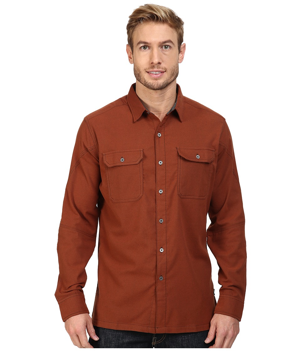 KUHL - Autonomous Long Sleeve Shirt (Sundried Tomato) Men's Long Sleeve Button Up