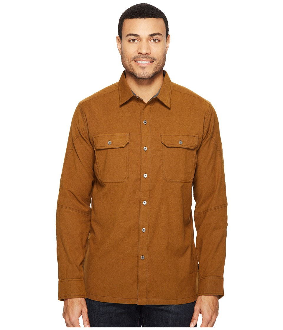 KUHL - Autonomous Long Sleeve Shirt (Teak) Men's Long Sleeve Button Up