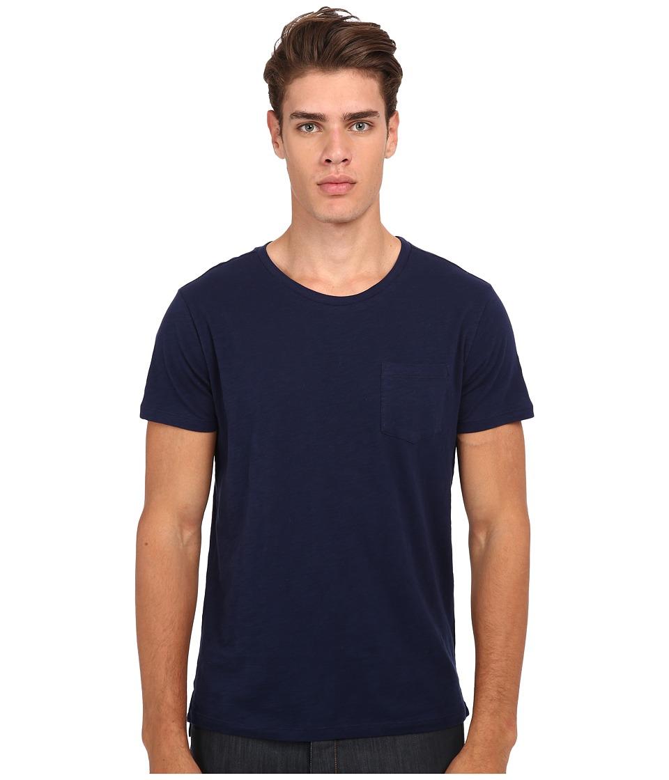 Gant Rugger - R. Slit Tee (Marine) Men's T Shirt