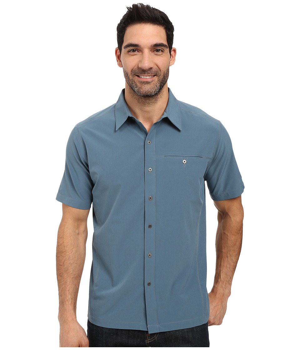 KUHL - Renegade Shirt (Shadow Blue) Men's Short Sleeve Button Up