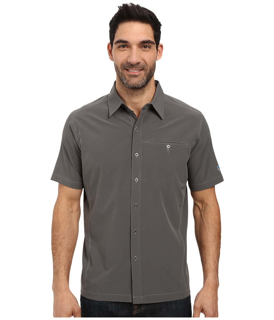 KUHL - Renegade Shirt (Storm) Men's Short Sleeve Button Up