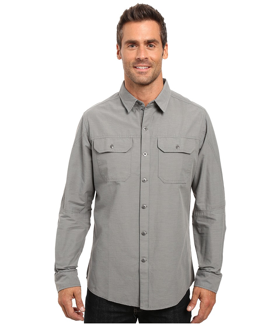 Kuhl - Sting Long Sleeve Shirt (Smoke) Men's Long Sleeve Button Up