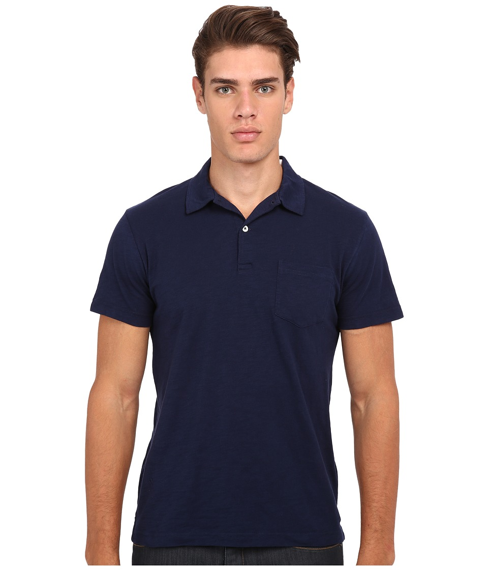 Gant Rugger - R. Chestpocket Polo (Marine) Men's Short Sleeve Pullover