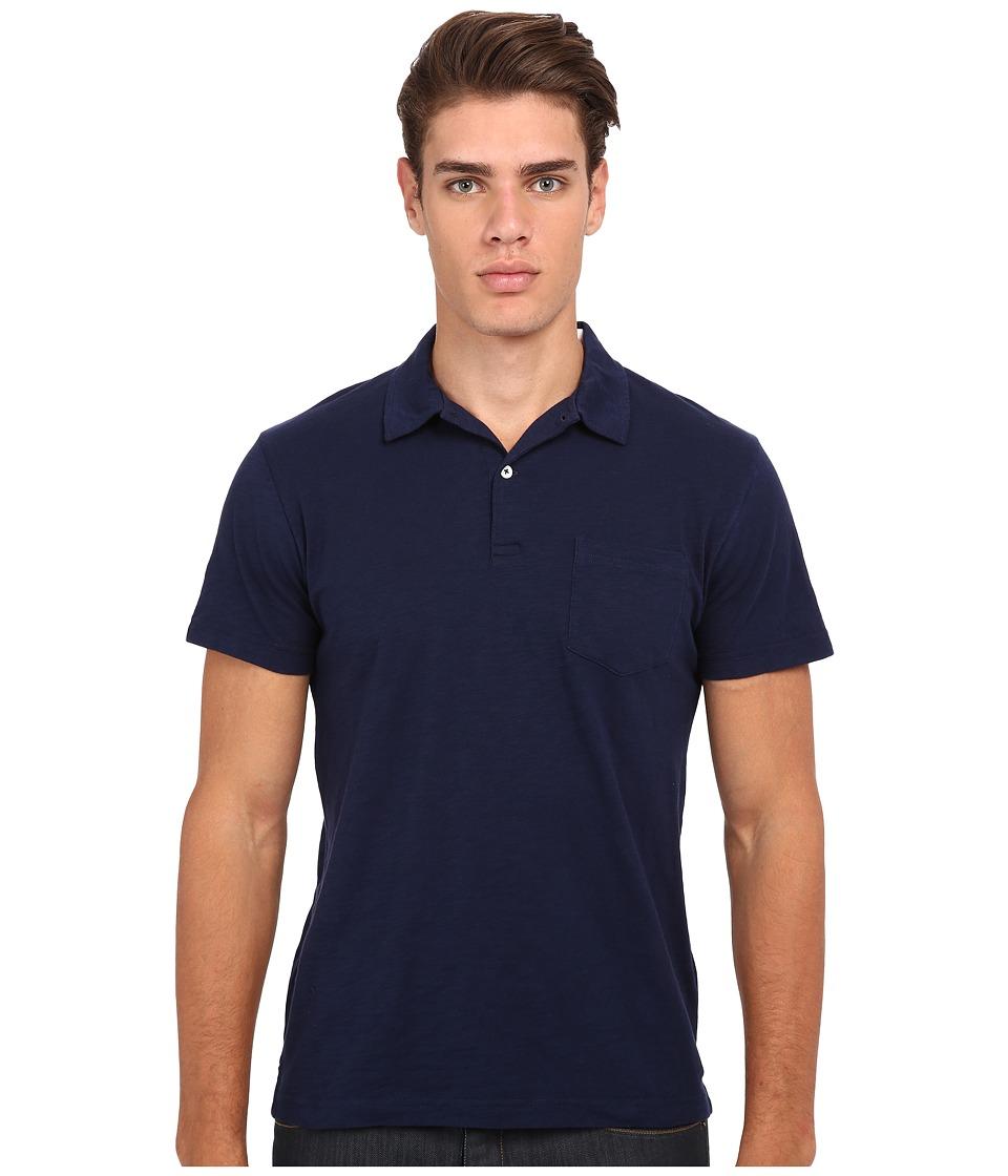 Gant Rugger - R. Chestpocket Polo (Marine) Men's Short Sleeve Pullover
