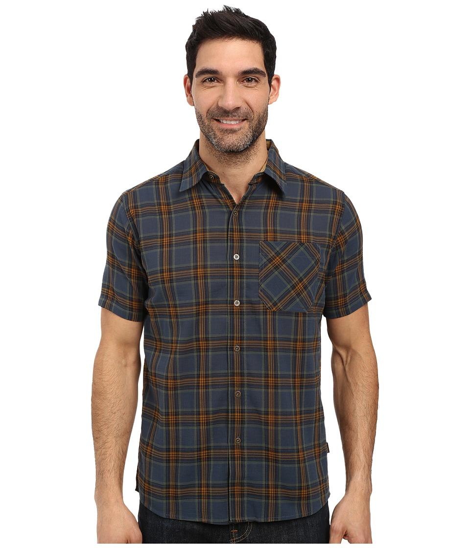 Kuhl - Tropik S/S Shirt (Blue Moon) Men's Short Sleeve Button Up