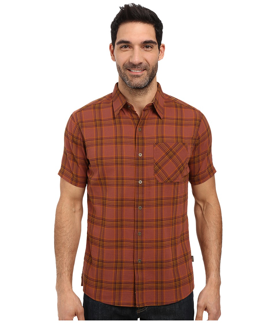 KUHL - Tropik S/S Shirt (Sundried Tomato) Men's Short Sleeve Button Up