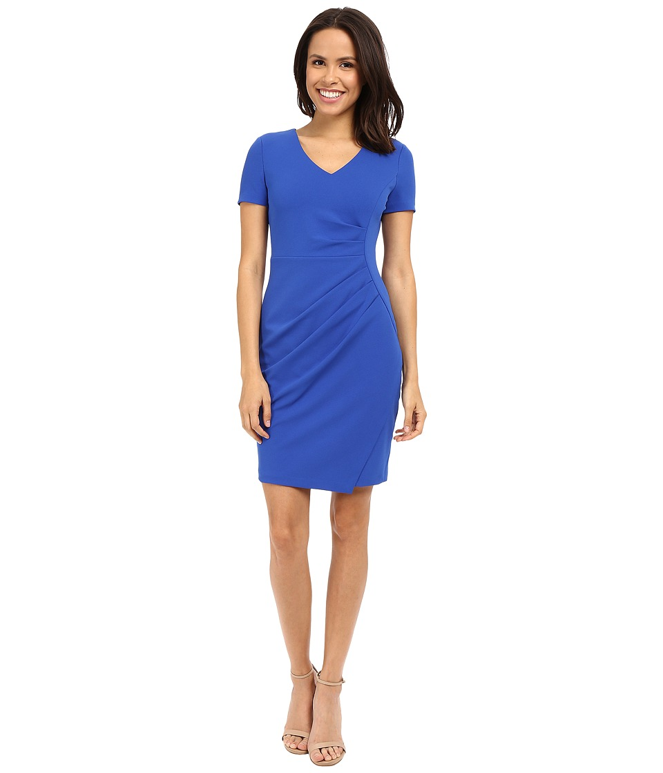 NYDJ - Rosie Stretch Crepe Dress (Lapis) Women's Dress