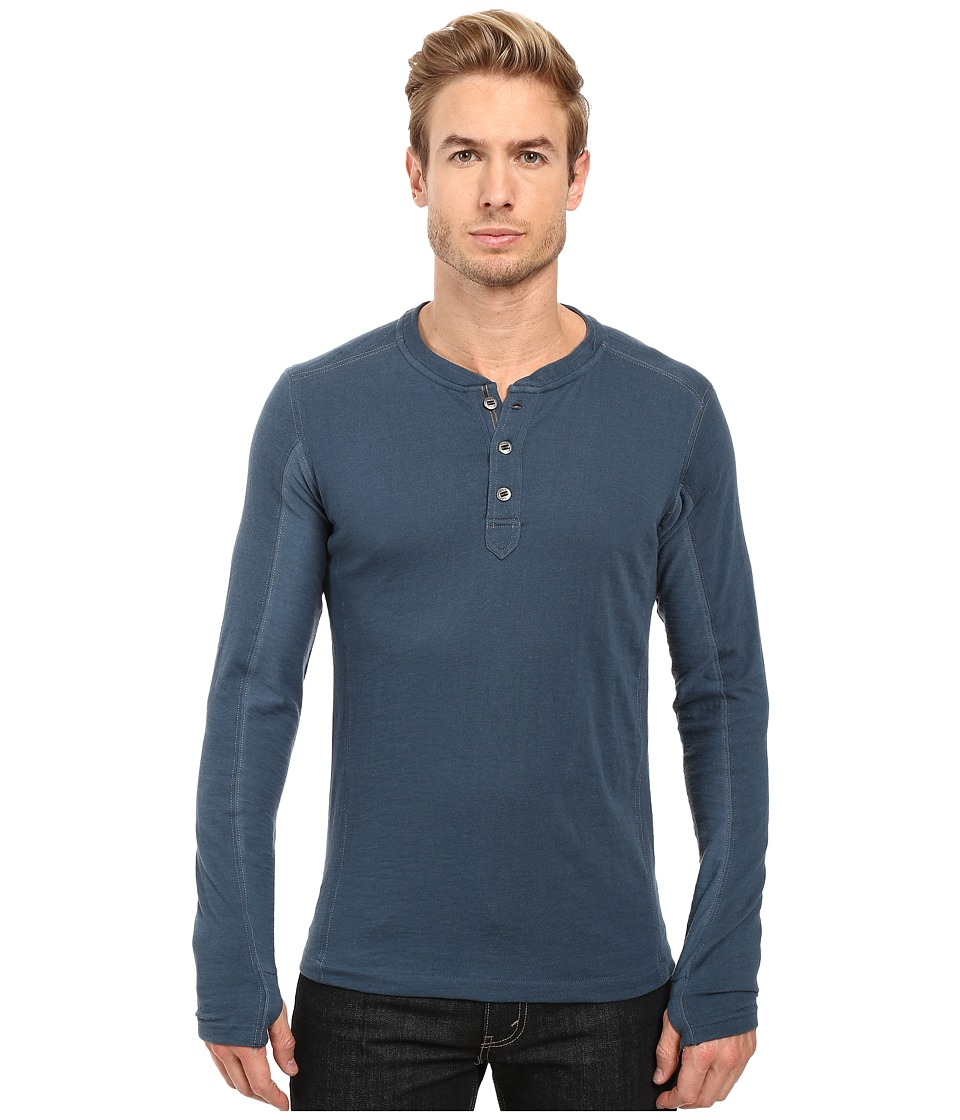 KUHL - Vanquisher Long Sleeve Shirt (Pirate Blue) Men's Long Sleeve Pullover