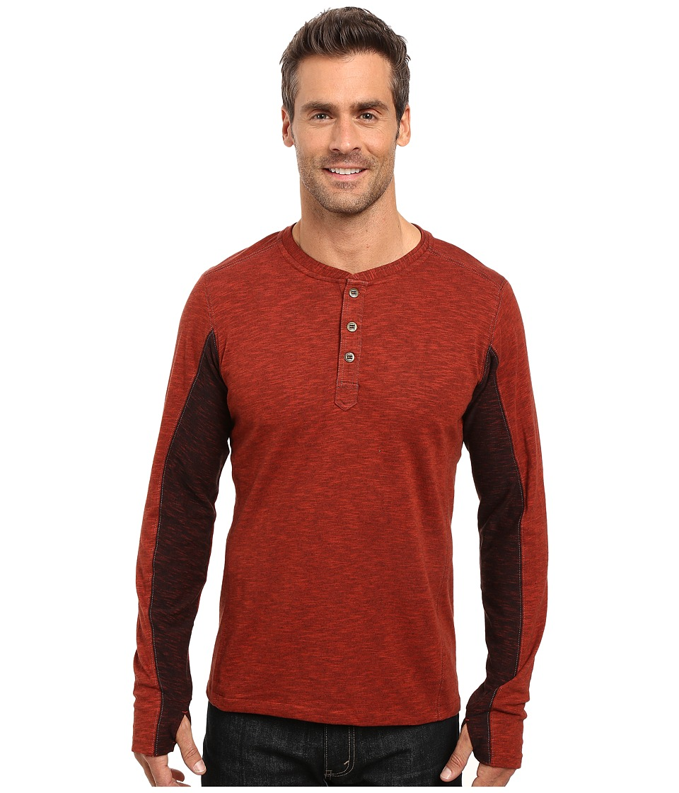 KUHL - Vanquisher Long Sleeve Shirt (Brick) Men's Long Sleeve Pullover