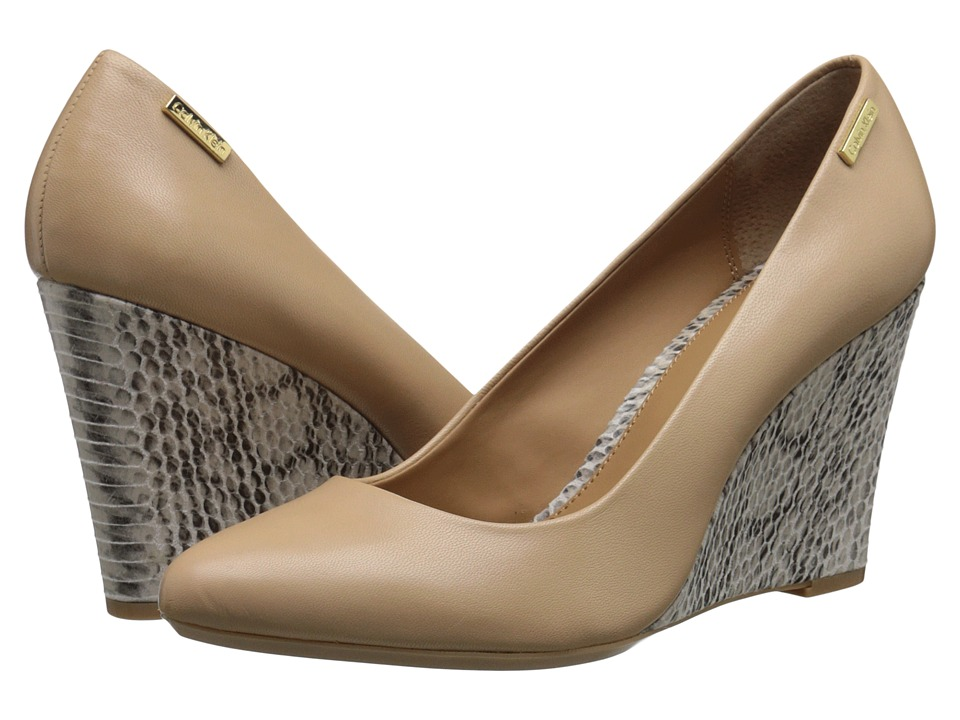 Calvin Klein - Celesse (Sandstorm/Soft White Leather/Muted Snake) Women