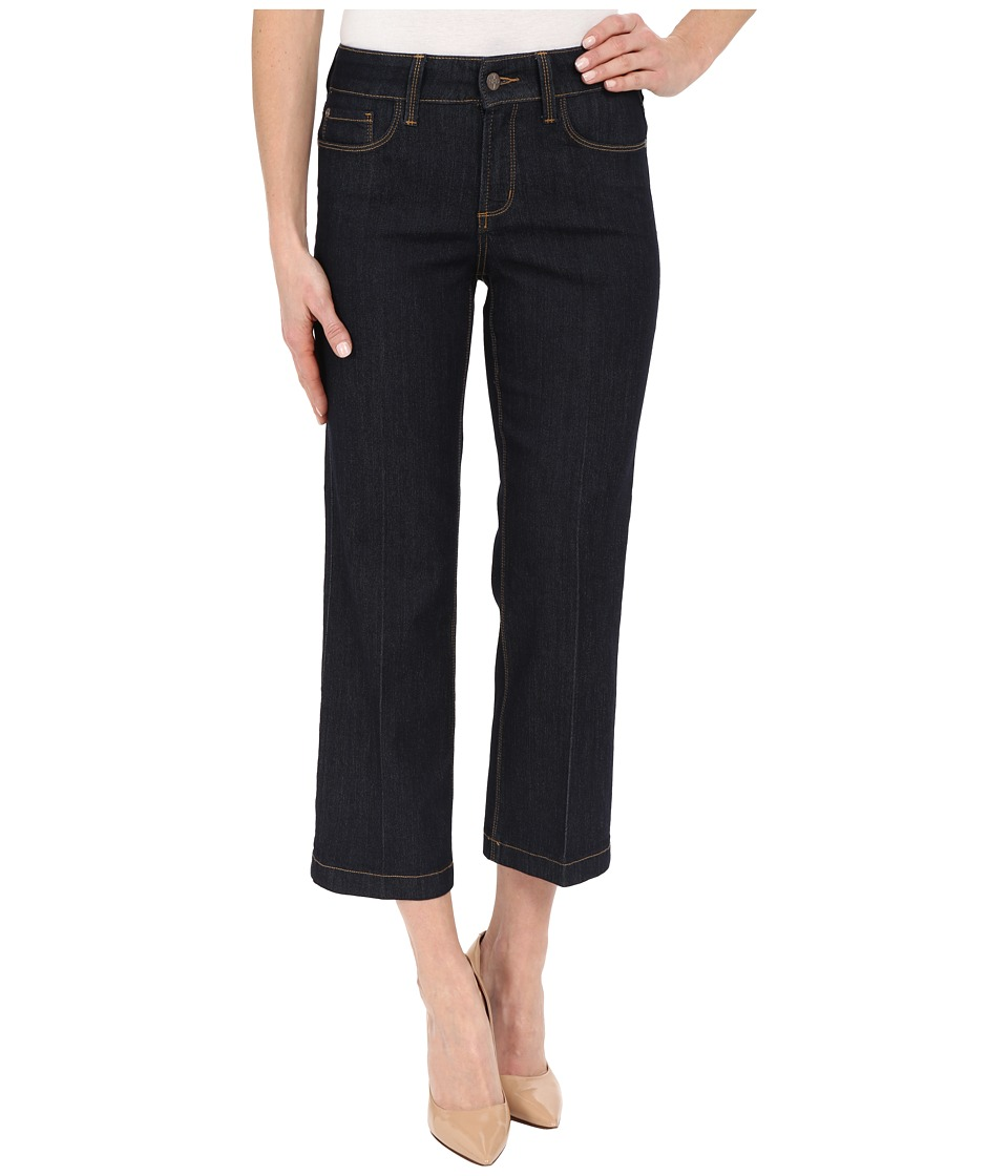NYDJ - Sophia Flare Ankle Jeans in Dark Enzyme Wash (Dark Enzyme Wash) Women's Jeans