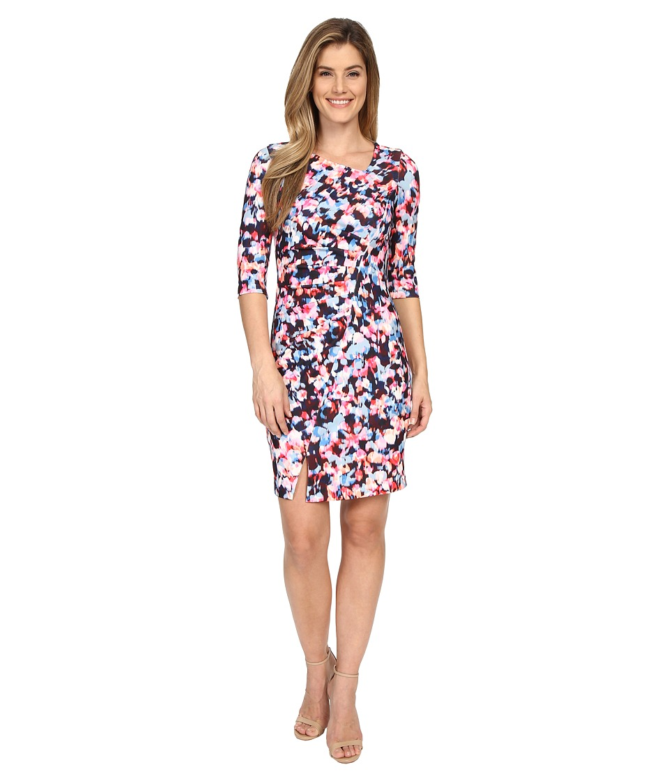NYDJ - Stretch Crepe Dress (Rainbow Rhapsody) Women's Dress