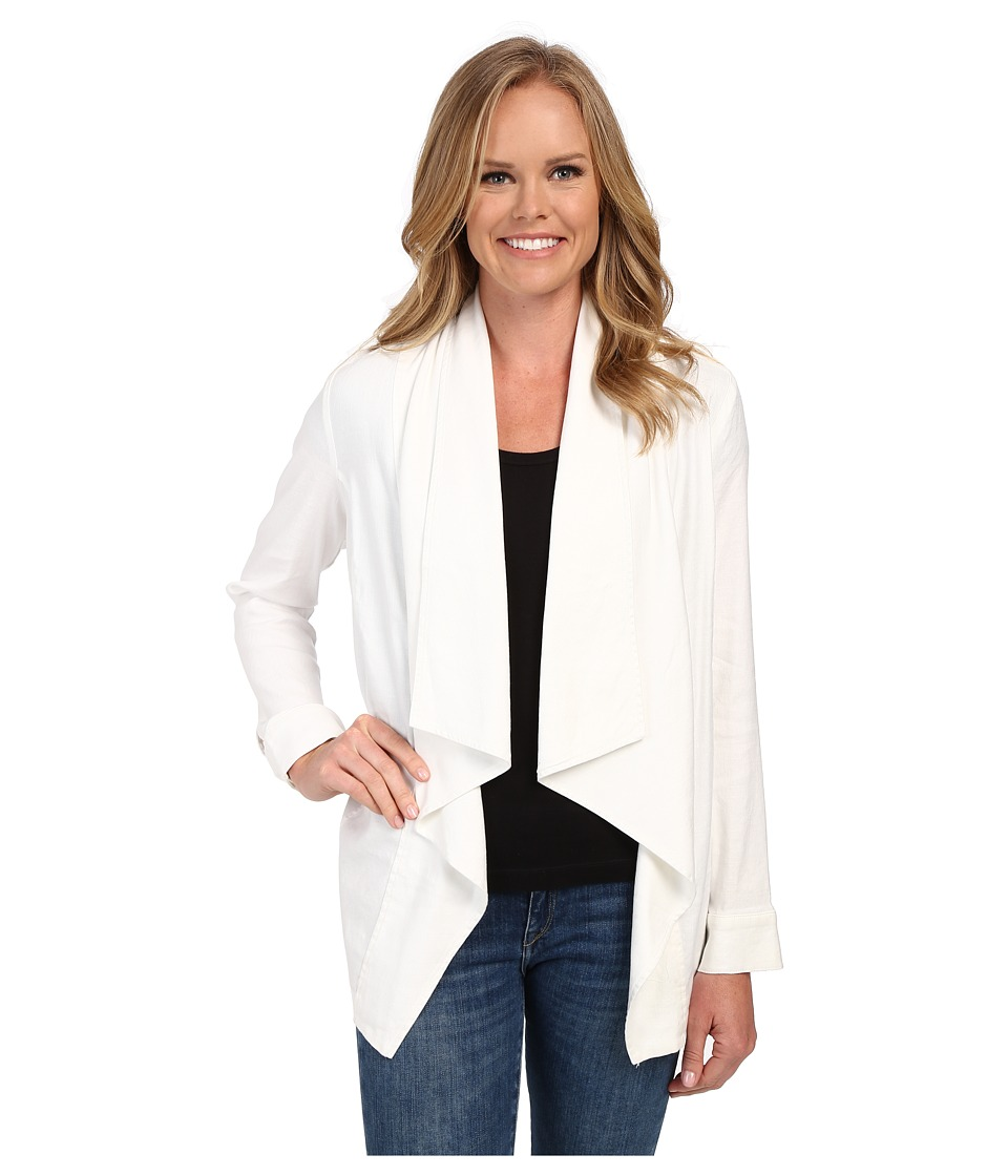 NYDJ - Stretch Linen Jacket (Optic White) Women's Jacket