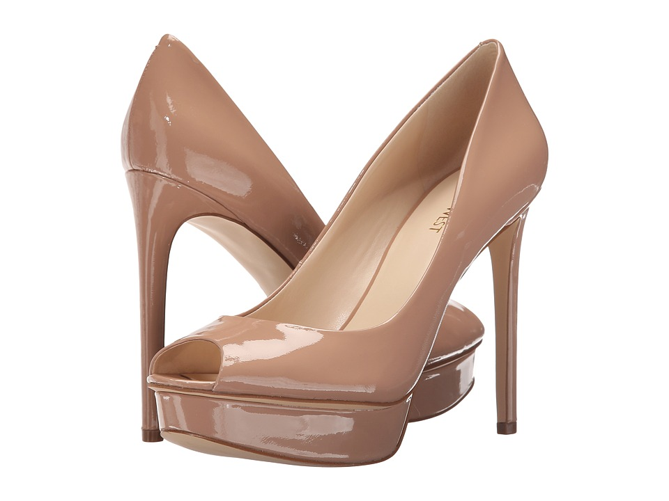Nine West - Edlyn (Natural Patent) Women's Shoes