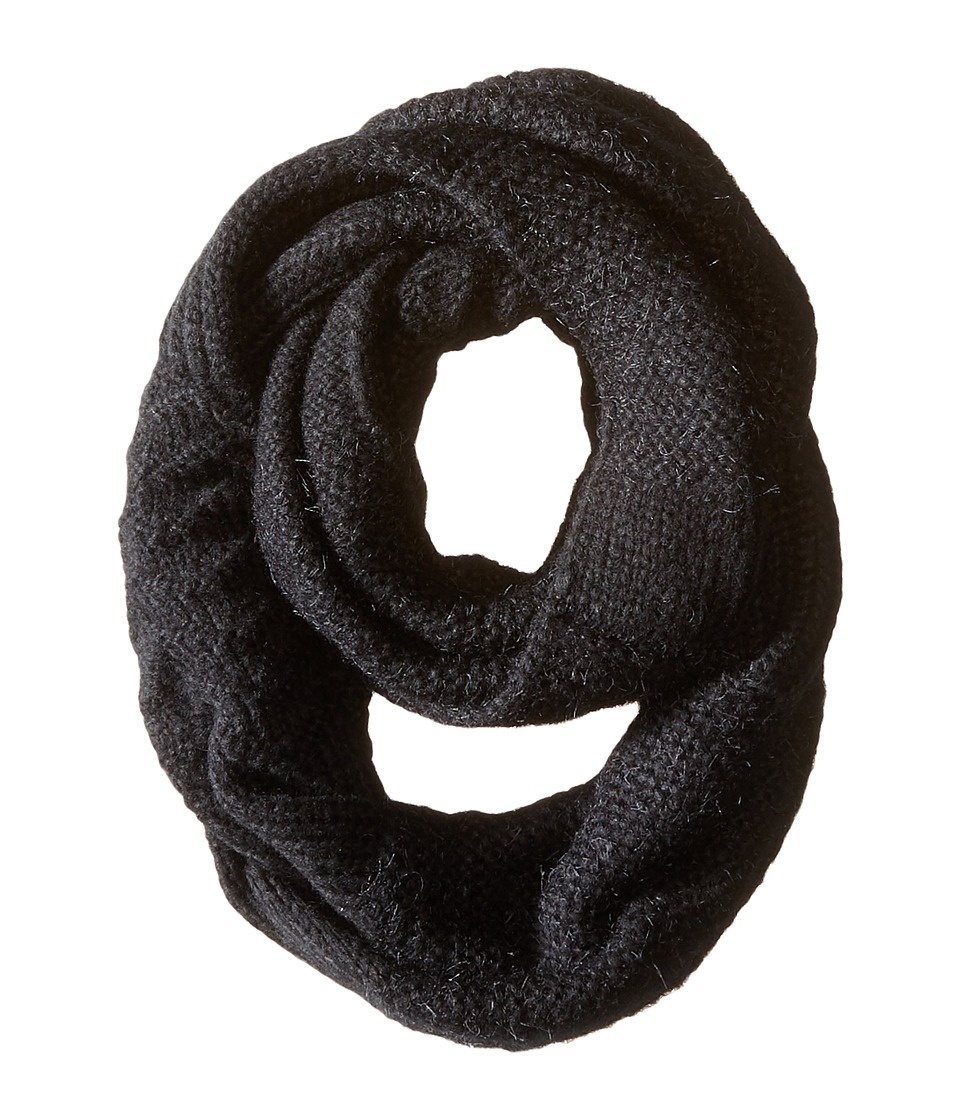 Echo Design - Multi Stitches Loop (Black) Scarves