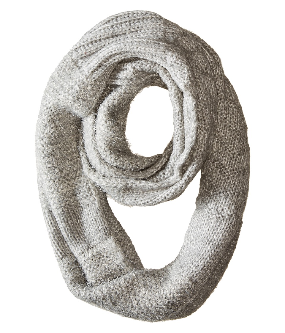 Echo Design - Multi Stitches Loop (Light Grey Heather) Scarves