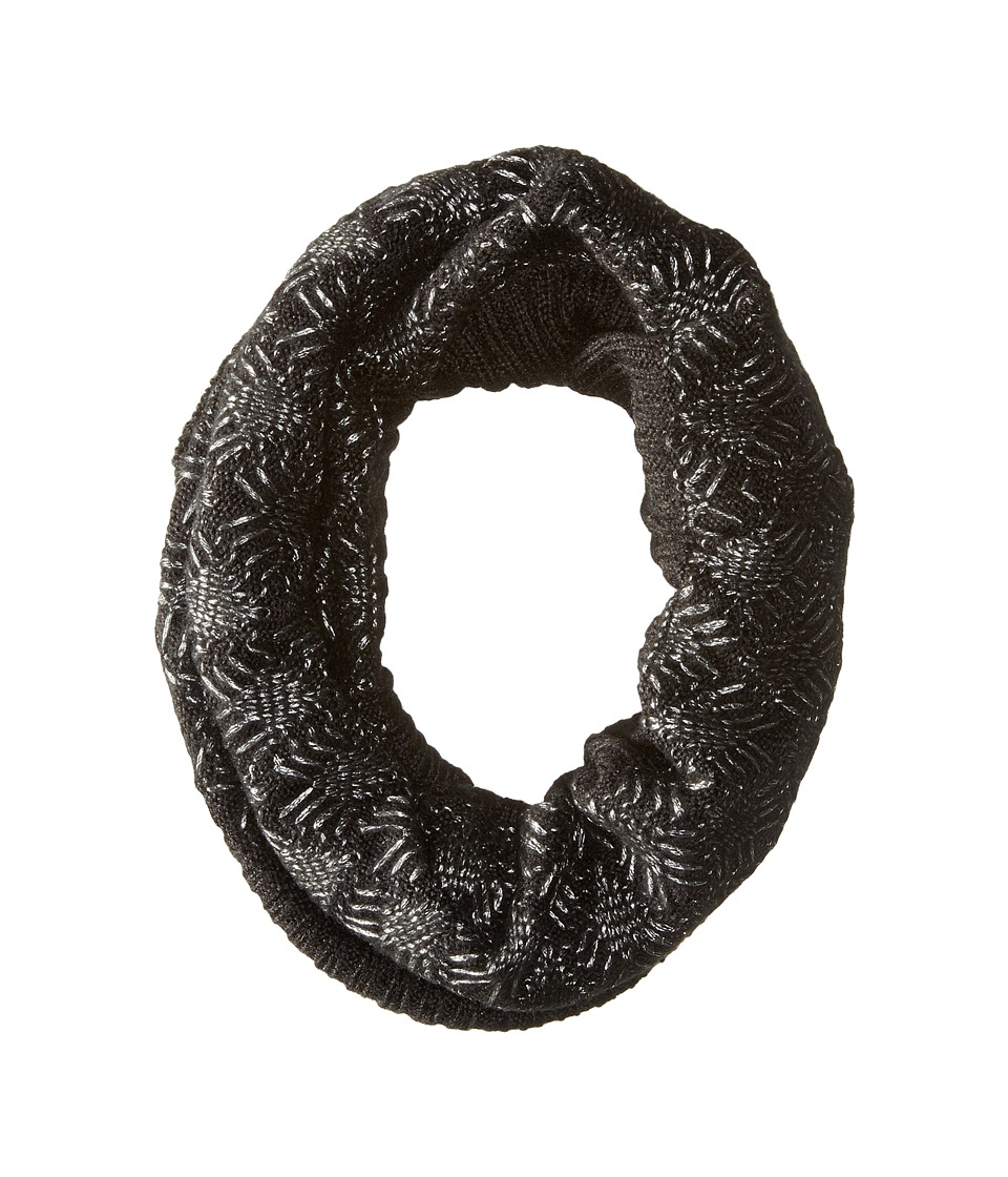Echo Design - Diamond Stitch Neckwarmer (Black) Scarves