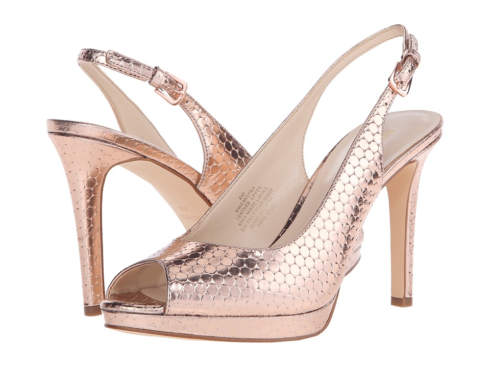 Nine West - Emilyna (Pink Metallic) Women's Shoes