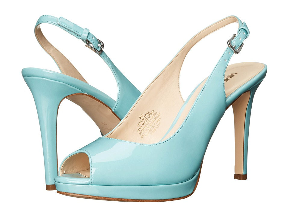 Nine West - Emilyna3 (Blue Synthetic) Women's Shoes