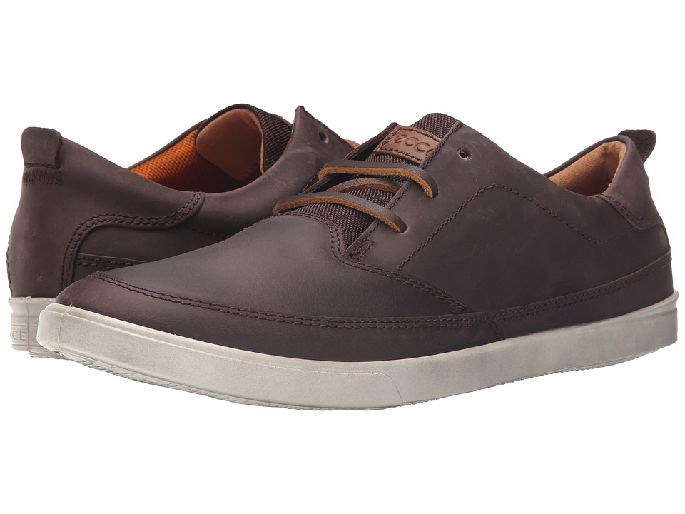 ECCO - Collin Classic Lace (Mocha) Men's Shoes