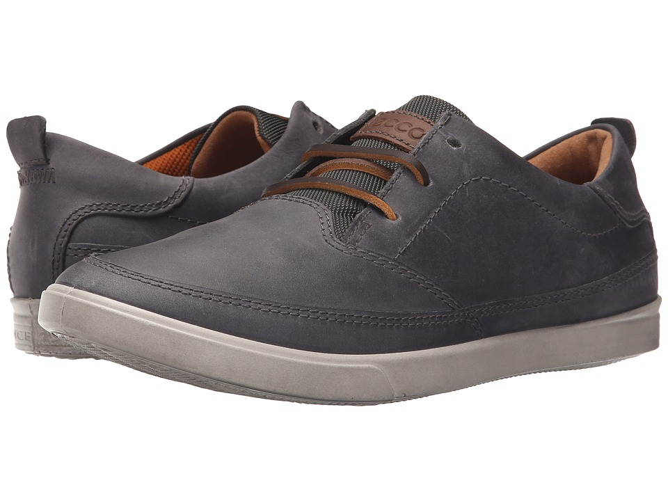 ECCO - Collin Classic Lace (Titanium) Men's Shoes