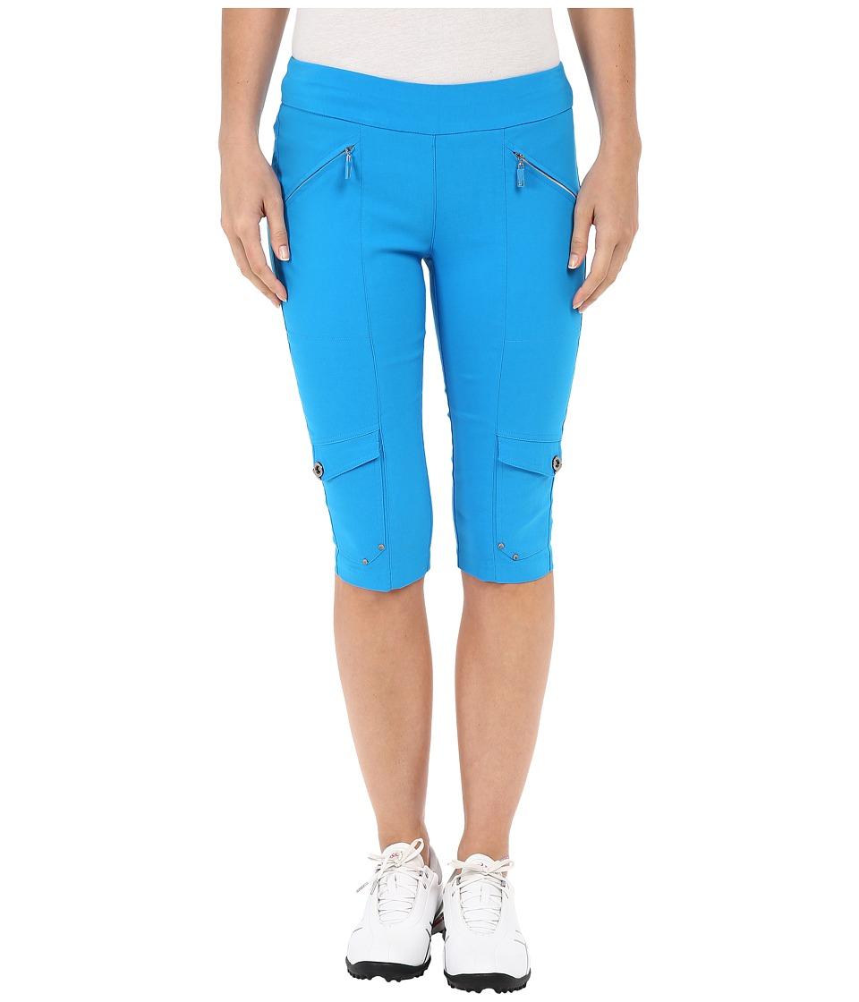 Jamie Sadock - Skinnylicious 24 in. Knee Capri (Blue Bayou) Women's Capri