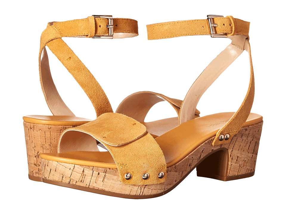 Nine West - Fiaz (Dark Yellow Suede) High Heels