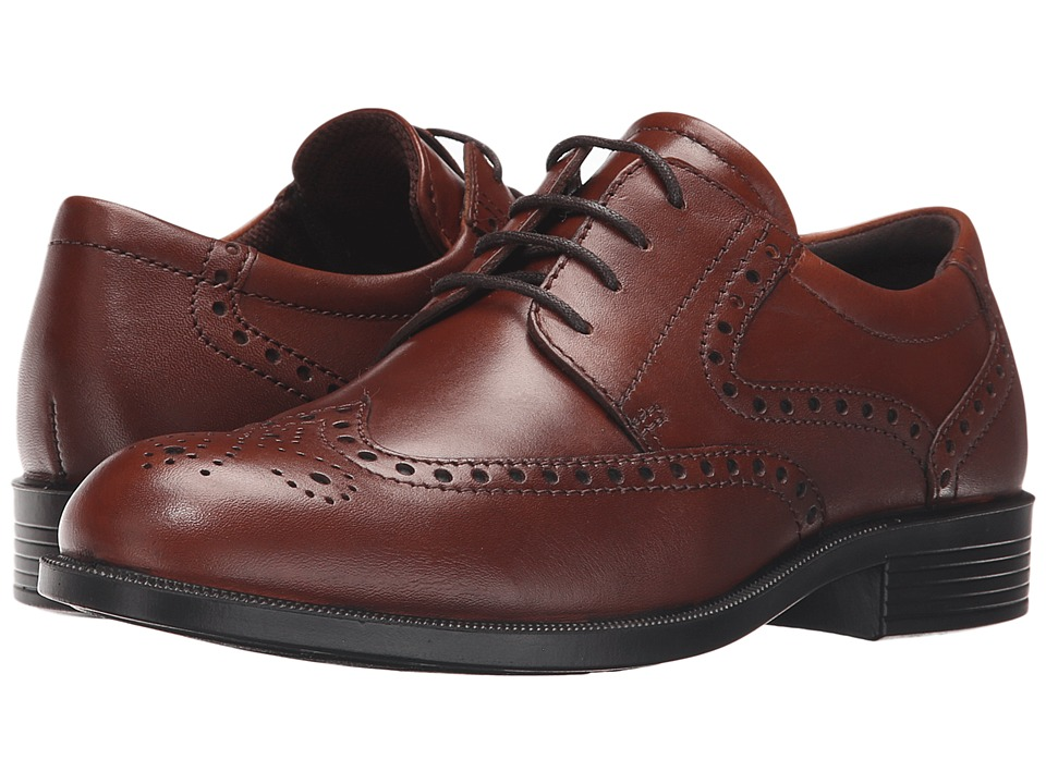 ECCO - Harold Tie (Cognac) Men's Shoes