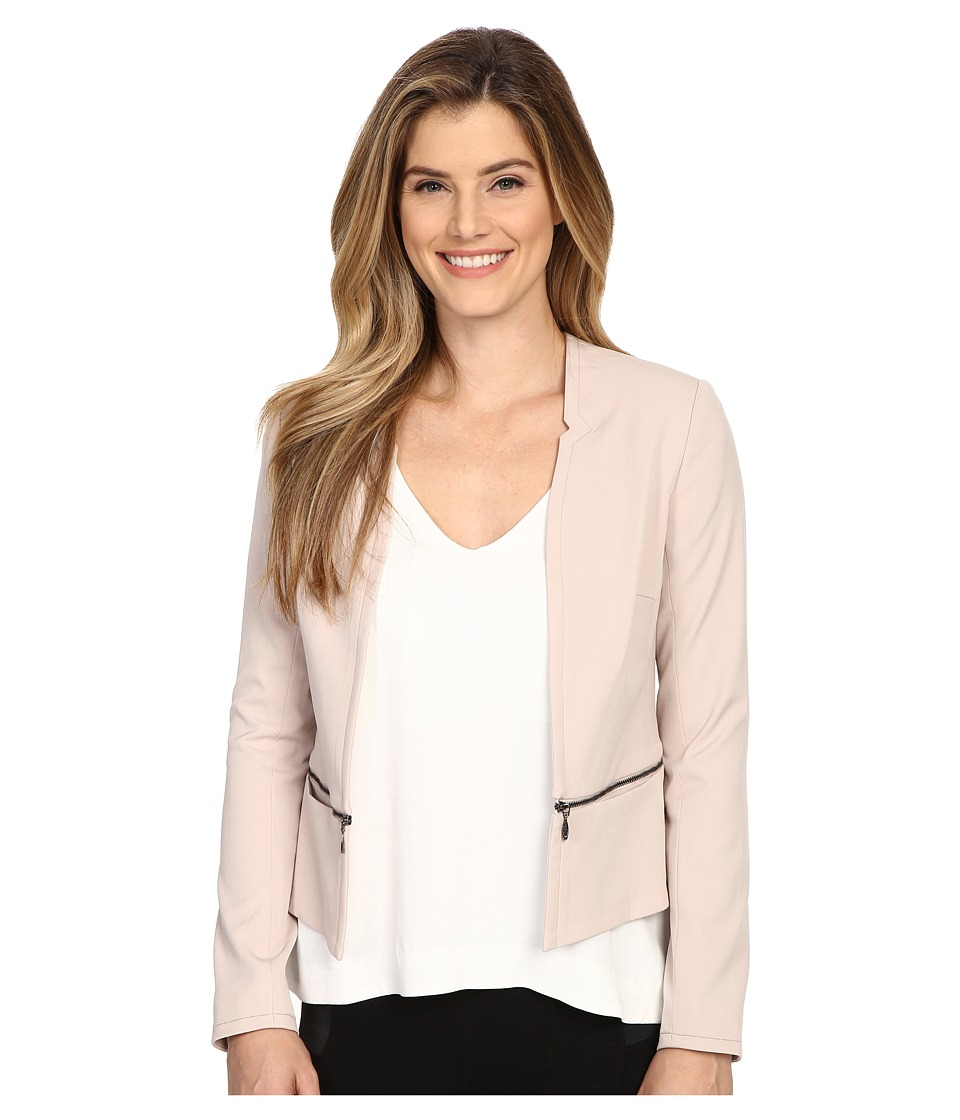 NYDJ - Zip Waist Jacket (Tan Memoir) Women's Coat