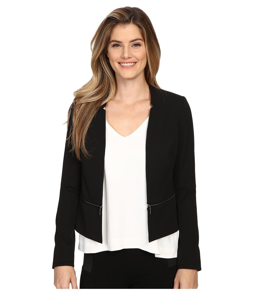NYDJ - Zip Waist Jacket (Black) Women's Coat